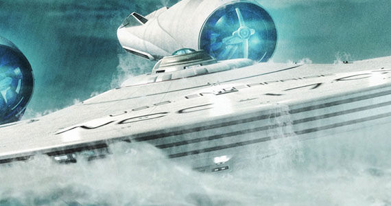 Star Trek Into Darkness Enterprise Water Damon Lindelof Talks Star Trek Into Darkness Spoilers & Honoring Canon