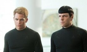 Star Trek Into Darkness Kirk Spock Black Shirts 280x170 New Star Trek Into Darkness & Amazing Spider Man 2 Images