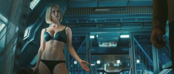 Star Trek Into Darkness Trailer Still Alice Even Starfleet Underwear 570x242 Star Trek Into Darkness Trailer Still Alice Eve In Starfleet Underwear