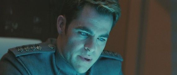 Star Trek Into Darkness Trailer Still Kirk Starfleet Council Uniform 570x242 New Star Trek Into Darkness Japanese Trailer & Clips   Captain Kirk Finds Danger