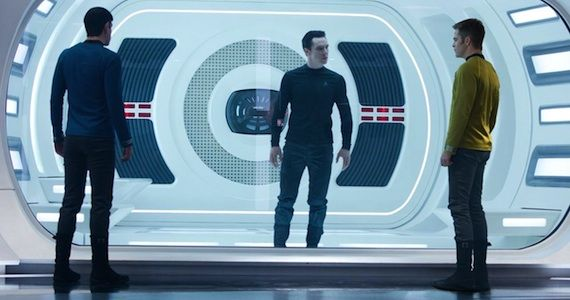 Star Trek Into Darkness Villain Name Star Trek 2 Image Clarifies Japanese Trailer Footage? Villain Alias Revealed