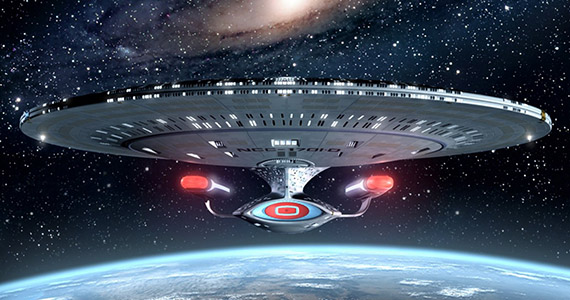 Star Trek The Next Generation Enterprise D Roberto Orci Meeting With CBS For New Star Trek TV Show [Updated]