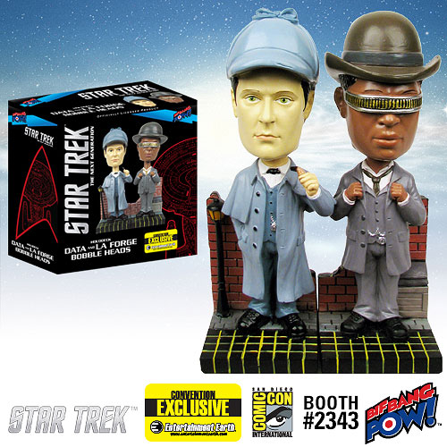 Star Trek The Next Generation Sherlock Holmes Data and La Forge Bobble Heads Set of 2 Convention Exclusive SR Geek Picks: Game Of Thrones Season 4 Deaths, Star Wars: Episode 7 Poster and More