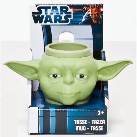 Star Wars 3D Mug Yoda 570x570 SR Geek Picks: R.I.P. Peter Parker, Geeks Vs. Nerds, The Best Movies Of 2012 & More!
