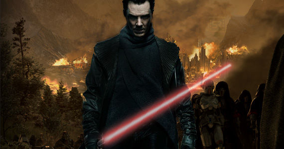Star Wars 7 Benedict Cumberbatch Sith Benedict Cumberbatch May Play Sith Villain of Next Star Wars Trilogy