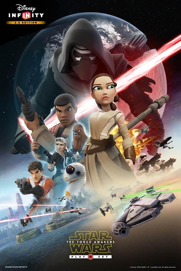 Disney Infinity 3.0 Star Wars: The Force Awakens Poster ...