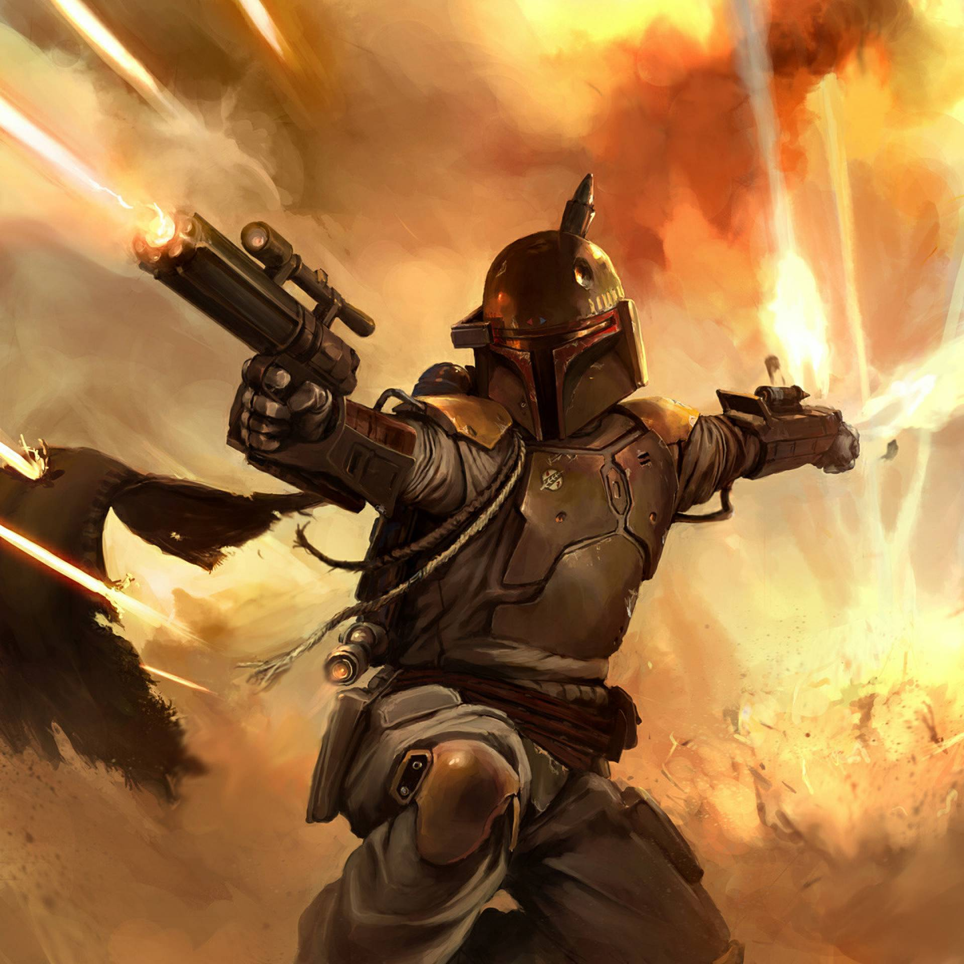 Star Wars Rumor Boba Fett Spinoff Puts New Character In