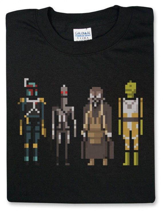 Star Wars Bounty Hunters Pixelated 570x740 Star Wars Bounty Hunters Pixelated
