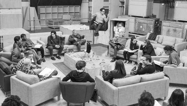 Star Wars Episode 7 Cast Photo Photoshop Abrams Star Wars: Episode 7 Casting: Best Reactions & Internet Memes
