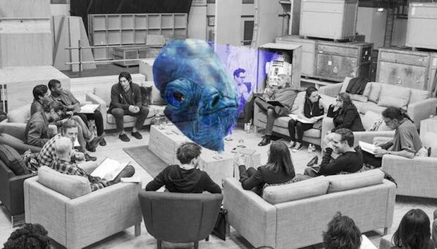 Star Wars Episode 7 Cast Photo Photoshop Admiral Ackbar Star Wars: Episode 7 Casting: Best Reactions & Internet Memes
