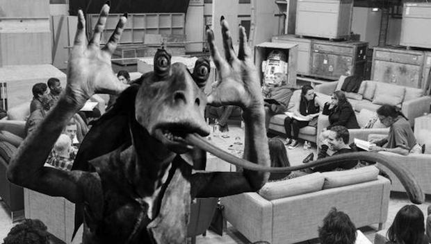 Star Wars Episode 7 Cast Photo Photoshop Jar Jar Binks Star Wars: Episode 7 Casting: Best Reactions & Internet Memes