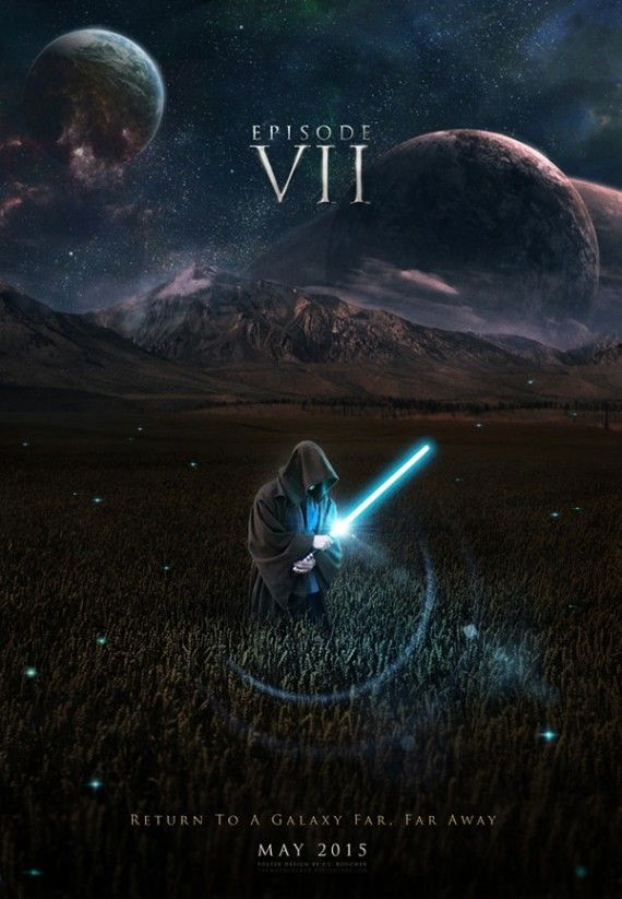 Star Wars Episode VII Fan Made Posters Take Speculation To A New Level 570x823 SR Geek Picks: Willie Nelsons Hobbit 2 Audition, Star Wars VII Fan Posters & More