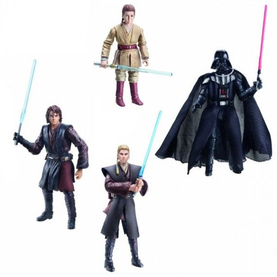 Star Wars Evolutions to Darth Vader Action Figure Set 570x570 SR Geek Picks: Darth Vader Reimagined, CG Animated Zelda Movie, Star Trek/Archer Mashup & More
