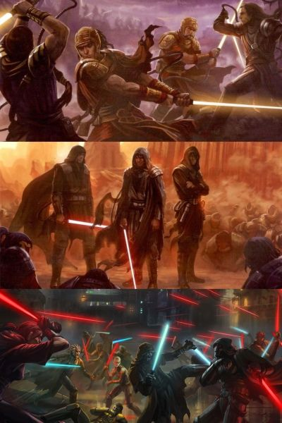 Star Wars Jedi Sith Great Schism