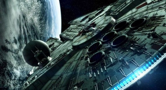 Star Wars Millenium Falcon Render 570x311 Disney Confirms Standalone Star Wars Films In Between Episodes 7 9 [Updated]