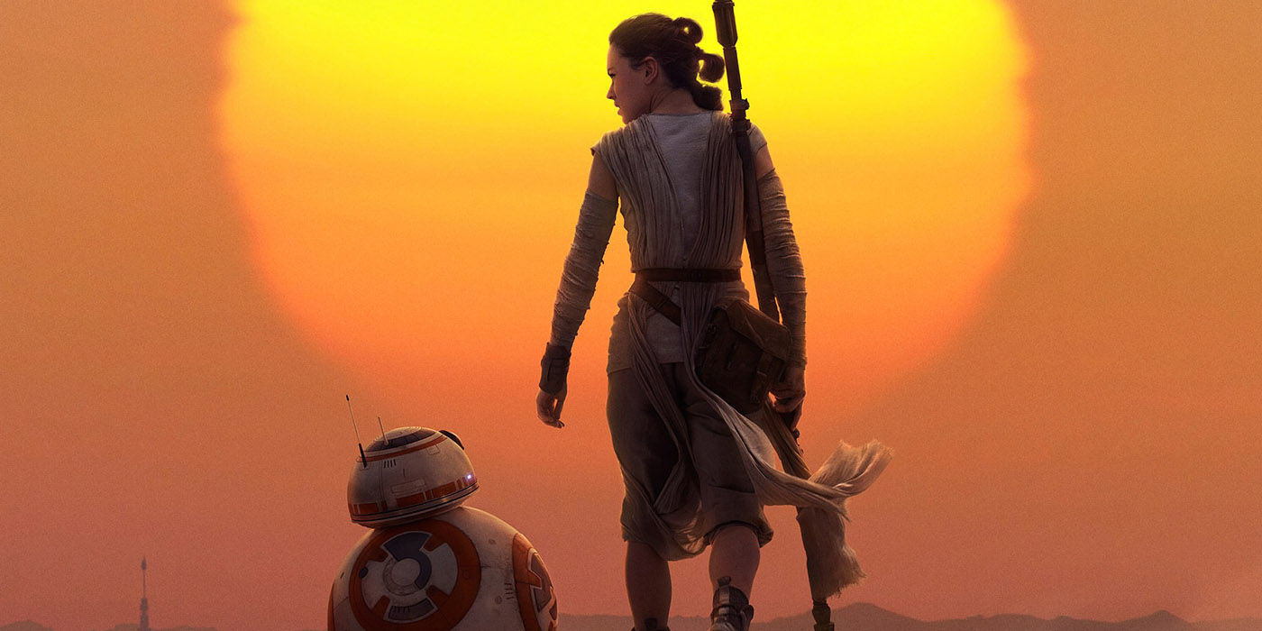 Favorite Images of Rey  Star-Wars-The-Force-Awakens-Rey-BB-8-Sunset