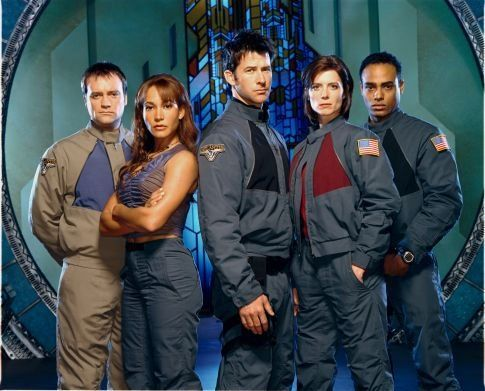 Stargate Atlantis Cast Photo NBCs Spin on Stargate Universe Ratings Falls Short