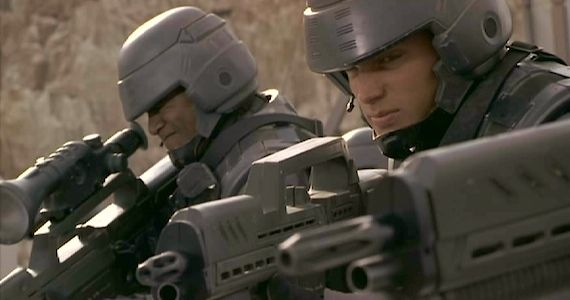 Starship Troopers Reboot Less Violent 'Starship Troopers' Reboot: Less Violence, More CGI