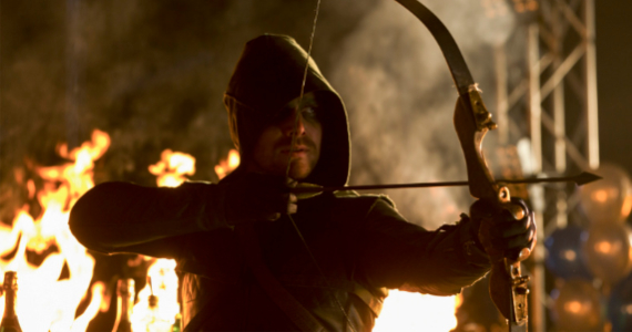Stephen Amell as Arrow Burned Arrow Season 1, Episode 10 Review – Scorched Earth