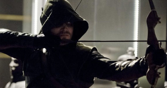 Stephen Amell as Oliver Queen in Arrow Darkness on the Edge of Town