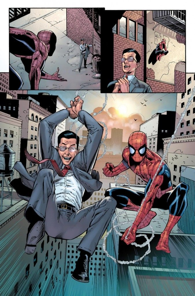 Stephen Colbert Spider Man team up Marvel Comics 674x1024 Marvel Announcing Another Classic Character Change up Tonight on Colbert [UPDATED]