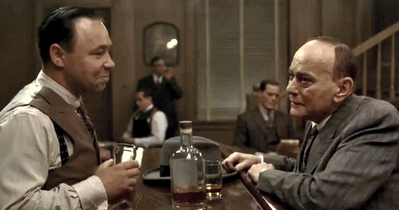 Stephen Graham and Greg Antonacci Boardwalk Empire: Are Chalkys Days Numbered?