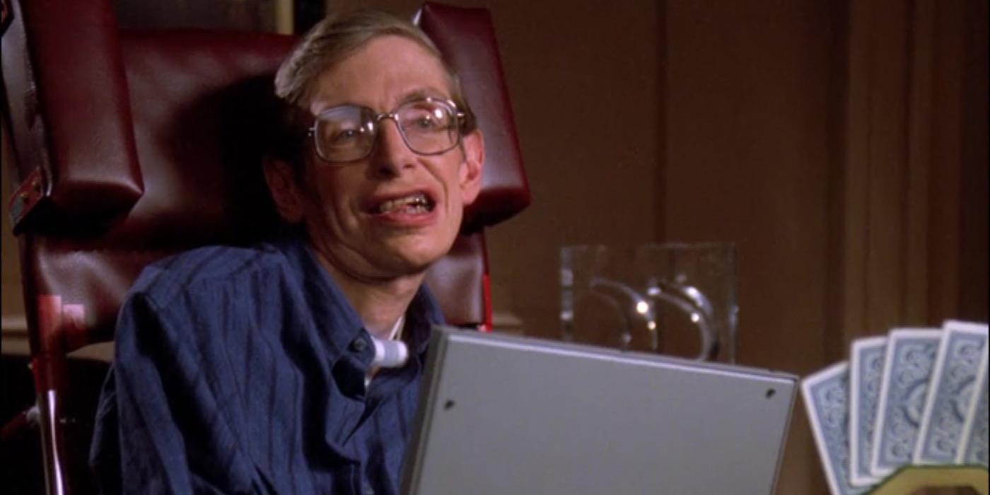 Stephen Hawking in Star Trek The Next Generation TNG