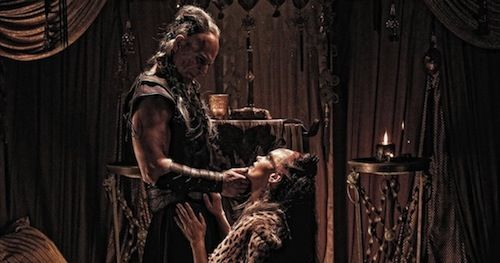 Stephen Lang and Rose McGowan in Conan the Barbarian Remake Conan the Barbarian Review