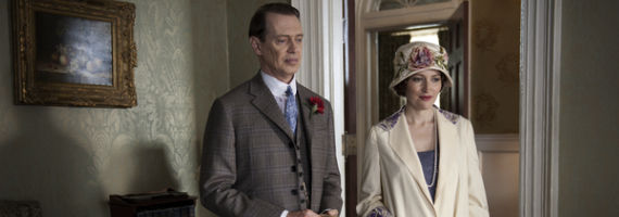 Steve Buscemi and Kelly Mcdonald in Boardwalk Empire Sunday Best Boardwalk Empire Season 3, Episode 7: Sunday Best