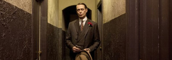 Steve Buscemi as Nucky Thompson in Boardwalk Empire Margate Sands Starz Developing Crime TV Series from The Departed Writer William Monahan