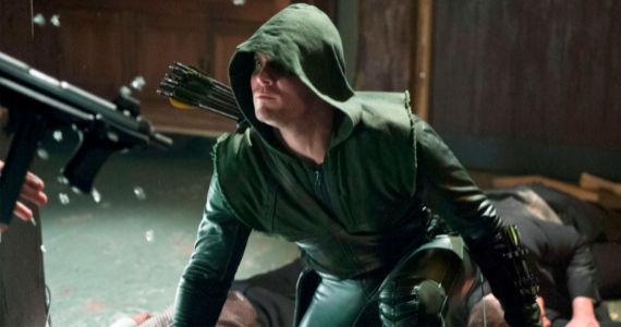 Steven Amell in Arrow The Undertaking
