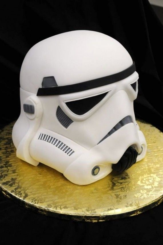 Stormtrooper Helmet Cake1 570x859 SR Geek Picks: The Matrix Man of Steel, Transformers 4 Wahlberg Trailer, Batman Western, & More