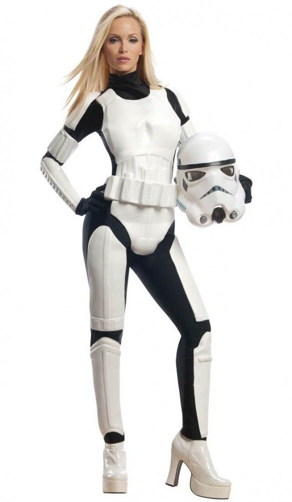 Stormtrooper Sexy Costume 570x979 SR Geek Picks: Forrest Gump/Man of Steel Trailer Mashup & the Alabama Ghostbusters