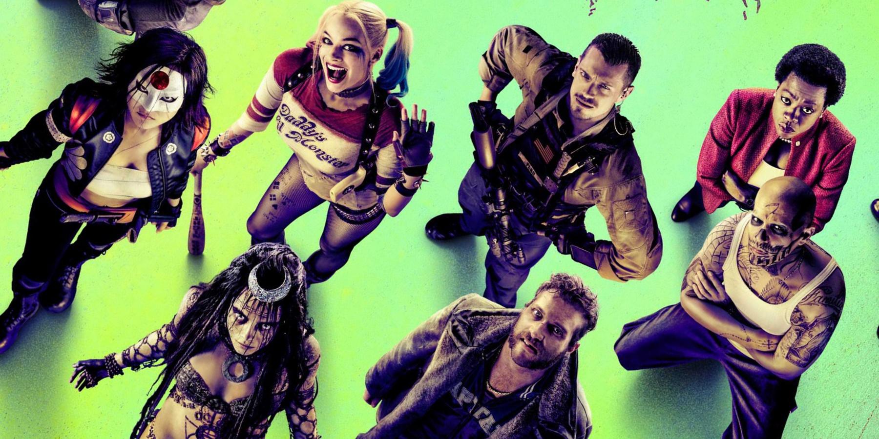 Suicide Squad Comic-Con Trailer