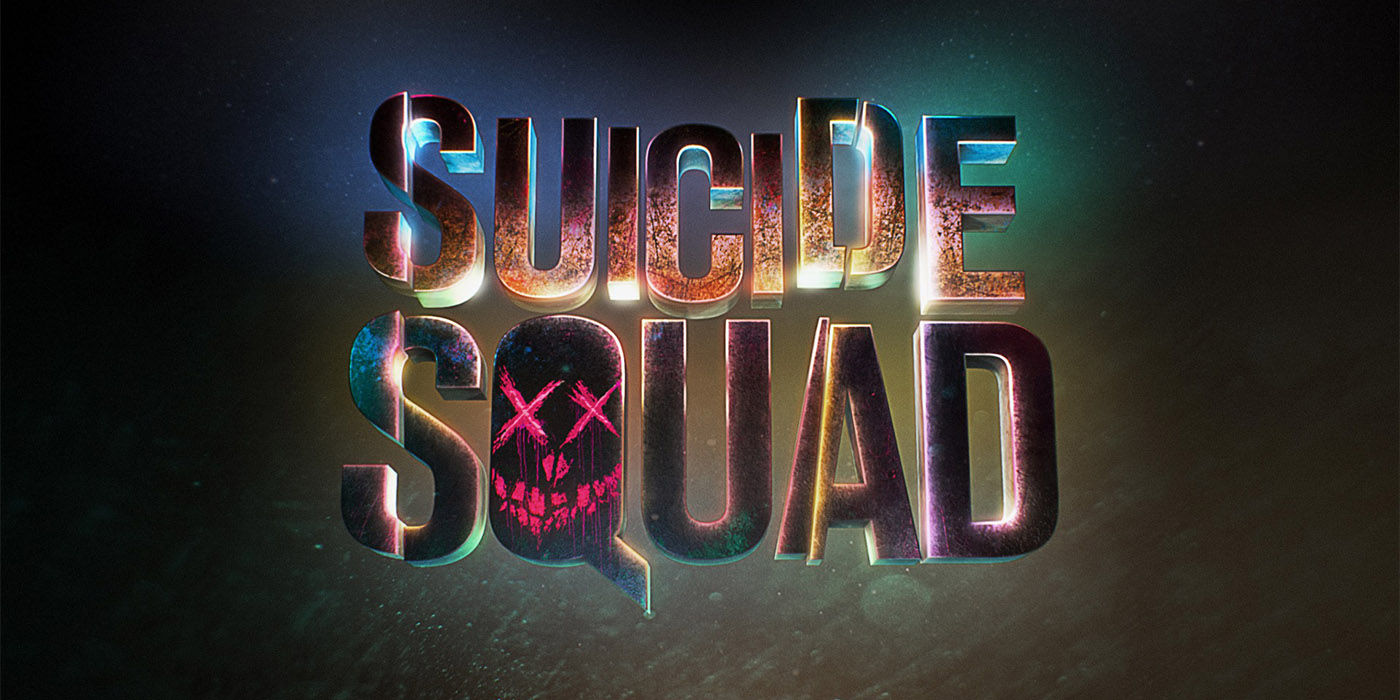 Suicide Squad Logo Suicide Squad: Easter Egg Filled End Credits & Character Profile Videos