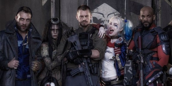 �suicide squad first official image of cast revealed