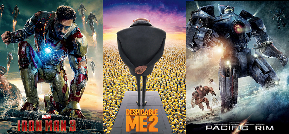 Summer 2013 Movies Box Offices Profits Summer 2013 Movies to Break Box Office Record   Sequels Win Over Originals