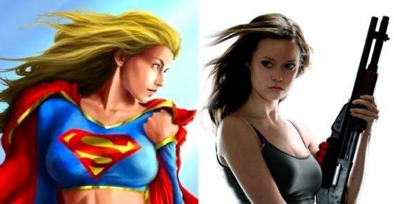 Summer Glau as Supergirl Superman/Batman: Apocalypse Arrives In September