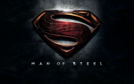 Supeman Man of Steel Logo Hi Res 570x356 Man of Steel Trailer: The Epic Origin of Superman (Plus 48 Images)