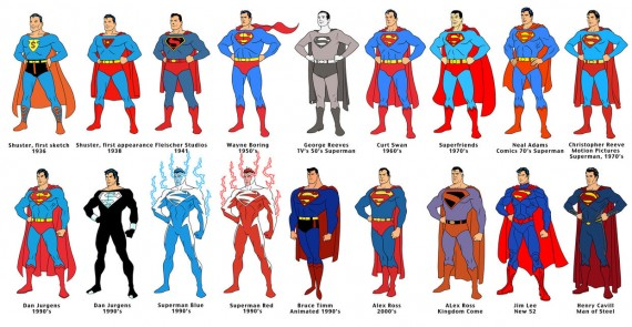 Superman 75th Anniversary Short Film Line Up by Dusty Abell 570x295 SR Geek Picks: Superman Through the Ages, Badman vs. Superman & More