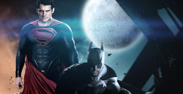 Superman Batman Cavill Affleck Fan Art Marvel vs. DC: Who Will Surrender Their May 2016 Release Date?