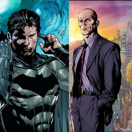 Superman Batman movie Story - Lex Luthor and  Bruce Wayne
