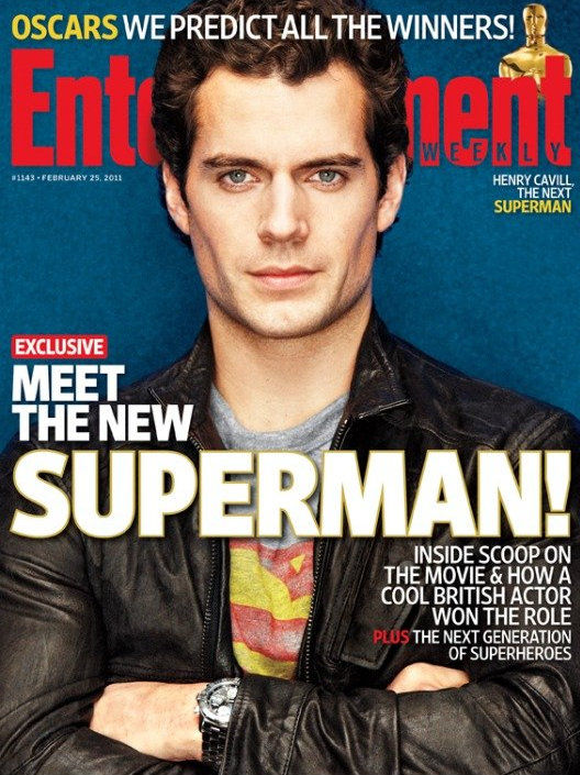 Superman Henry Cavill Magazine Cover Henry Cavill & Zack Snyder Discuss The Superman Audition