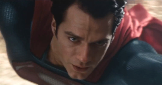 Superman Man of Steel Trailer Discussion Zack Snyder Talks Violent Flight in Man of Steel & Cavill Wearing the Original Suit