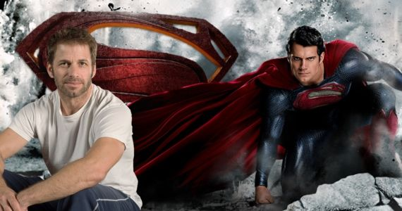Superman Man of Steel Zack Snyder Henry Cavill Says Man of Steel is Zack Snyders Baby, Not Nolans