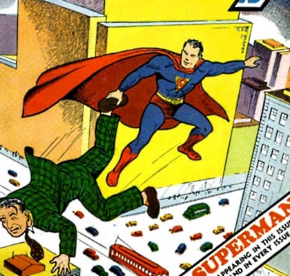Superman Suit History Early
