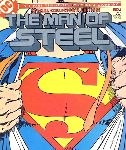 Superman The Man of Steel Comic