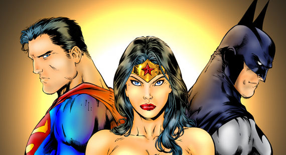 Superman Wonder Woman Batman Movie Rumors WB Executive Dodges Wonder Woman Question for Batman vs. Superman