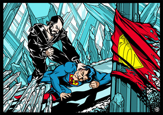 Superman vs  Zod by Weier1138 Why Zod Is A Good Villain for Superman Man of Steel