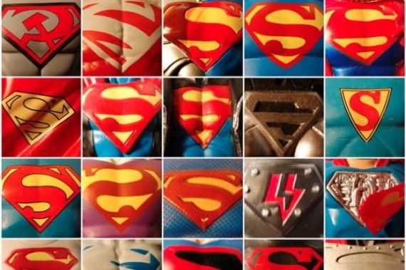 Supermans Shield Through The Years 570x379 SR Geek Picks: Conan Spoils Star Trek Into Darkness, Gatsby Explained & More
